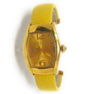 Joan Rivers Classics Women's Watch Bangle, Yellow